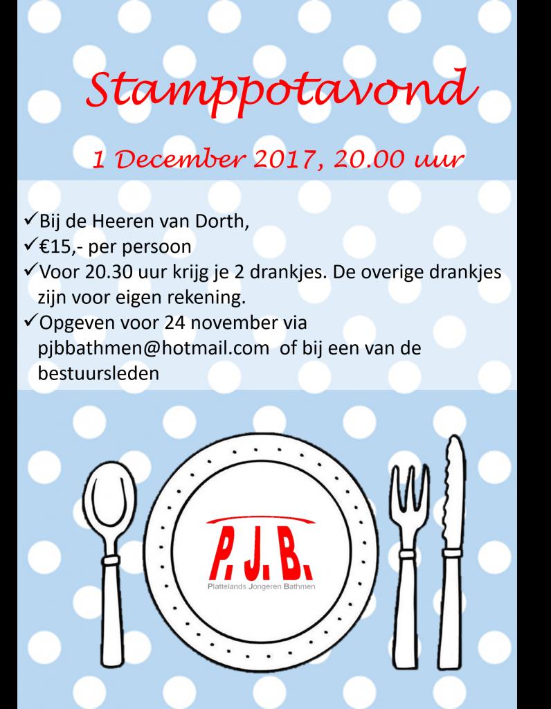 poster stamppotavond A3